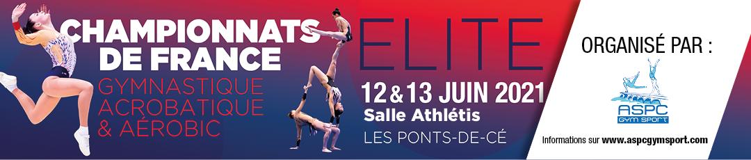 Organisation du Championnat de France 2021 ELITE GAC/AERO