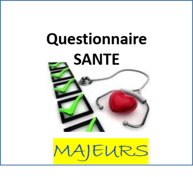 Questionnaire sante majeurs ffgym