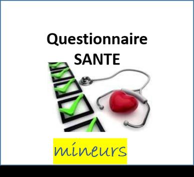 Questionnaire sante FFGYM mineurs